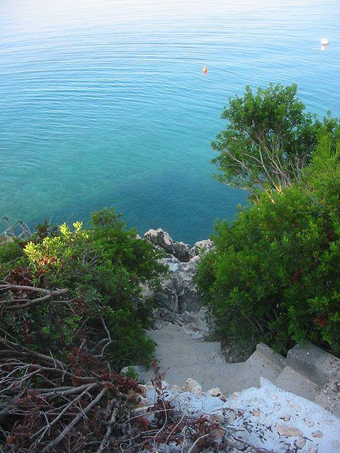 Croatia, Island Ciovo, Okrug Gornji. Near our summer residence - http://dobri-apartmani.de/home.html