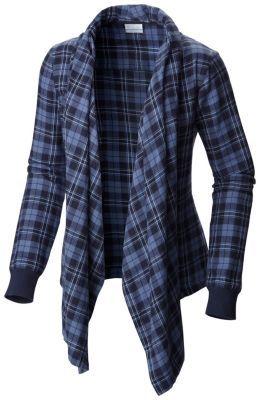 Women's Simply Put™ Flannel Wrap (Black)