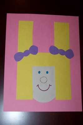 Letter craft alphabet book!  Adorable!!