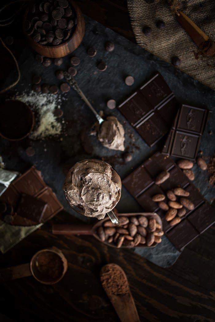 Aventuras en la cocina: Chocolate derretido caliente con sal del mar Whipped Cream