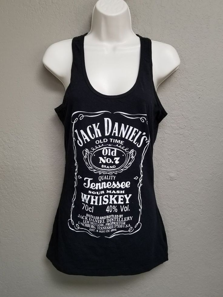 Rosio USA Juniors 2XL Jack Daniels Black Racerback | Clothing, Shoes & Accessories, Women's Clothing, Tops & Blouses | eBay!