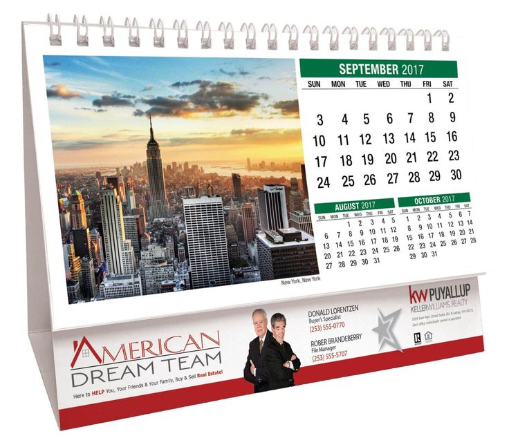 desk calendars scenes of america give a gift theyll keep all year