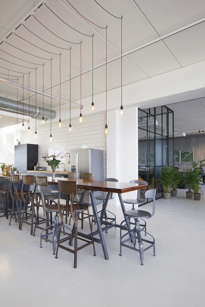 Lighting For The Kitchen A Way To Get More Lighting Across The Countertop Office Interior Design Industrial Interiors Office Interiors