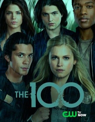 The 100 - CW     Premiers Early 2014 Set 97 years after a nuclear war has destroyed civilization, when a spaceship housing humanity's lone survivors sends 100 juvenile delinquents back to Earth in hopes of possibly re-populating the planet.  Based on a book of the same name, the first in a series by Kass Morgan.