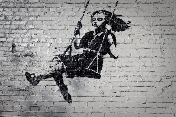 "Street Art Of World's Most Famous Unidentified Person ""Banksy ..."