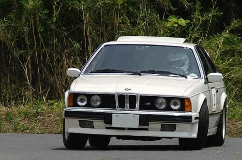 BMW E24 635CSi 成田モーターランド