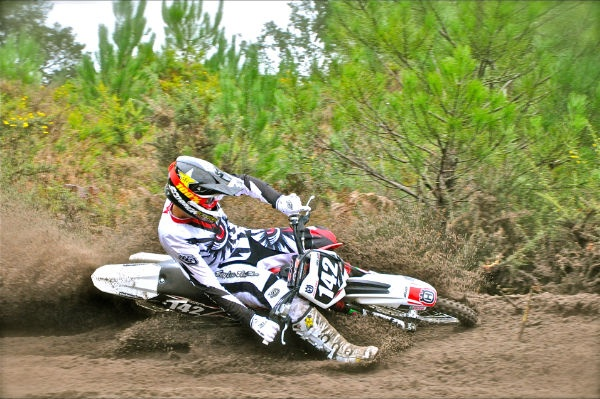 Benoit Paturel (18 years FRA) of our Husqvarna Junior MX Team and his TC250R