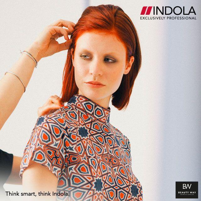 Τα νέα INDOLA Urban Reds όπως τα λανσάρει το εντυπωσιακό GraphiClash μοντέλο μας! Θα τα δοκιμάσετε; #Indola #IndolaUrbanReds #BeautyWay