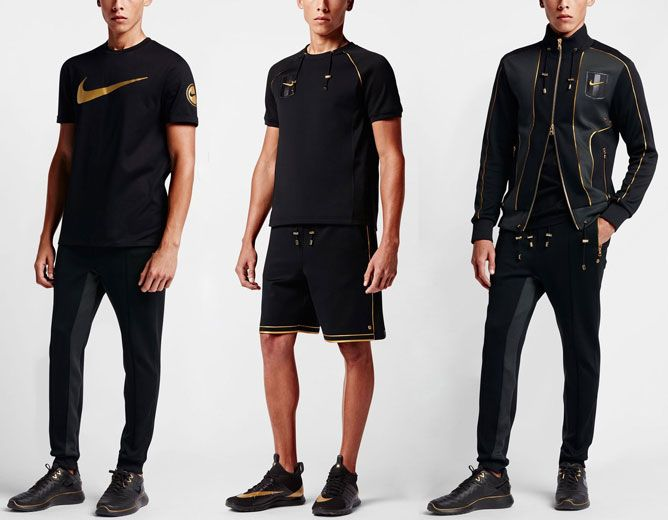 02ef0470 Nike Store Nikelab X Olivier Rousteing Nike Roshe Tiempo Vi Or Size 9