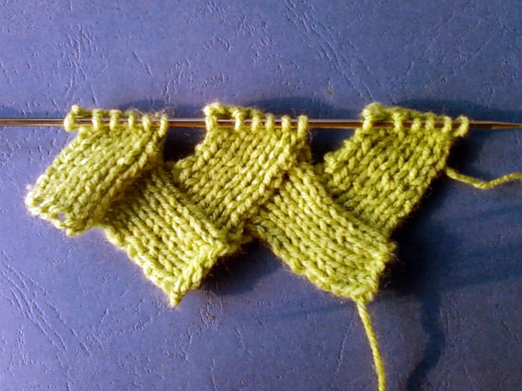Knitting videos to instruct you on learning the knit stitch in both continental and english style knitting. Description from knitulov.net. I searched for this on bing.com/images