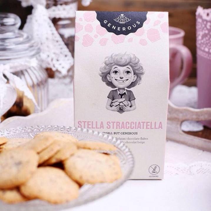 Stella Straciatella Koekjes - Koekjes met brokjes chocolade Haar mediterraans temperament maakte van Stella geen gemakkelijk kind. ... http://www.bommelsconserven.nl/delicatessen/zoetwaren_bestellen/biscuits_en_crackers_van_epicerie_de_provence_online_kopen/