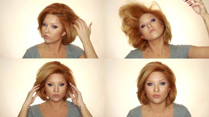 DUŻE LUŹNE FALE oraz MEGA PUSH-UP | Tutorial włosowy | kitulec