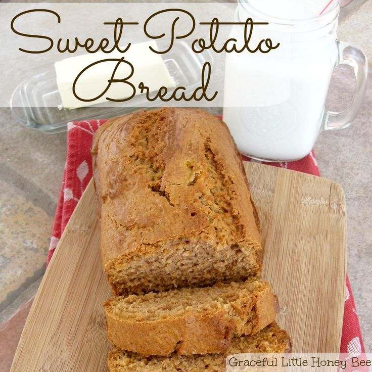 See how to make this sweet and delicious sweet potato bread.