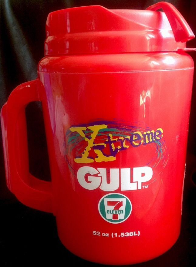 Yeti Coffee Thermos: Aladdin Thermos X-treme Gulp 52oz 711 Red Insulated Drink