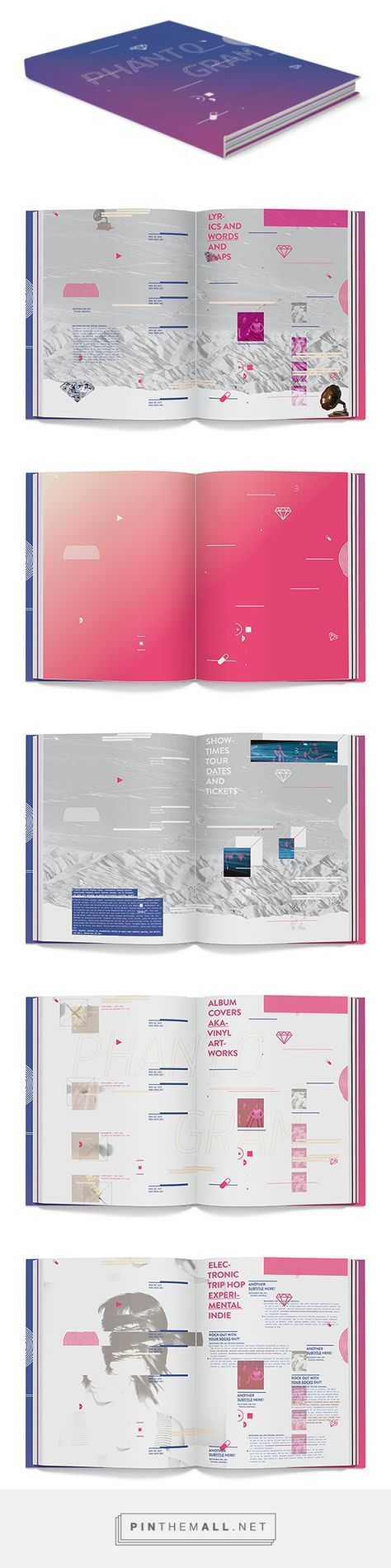 Phantogram Tour Book