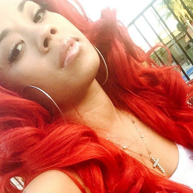 Keyshia cole red curly hair | KEYSHIA COLE | Pinterest ...