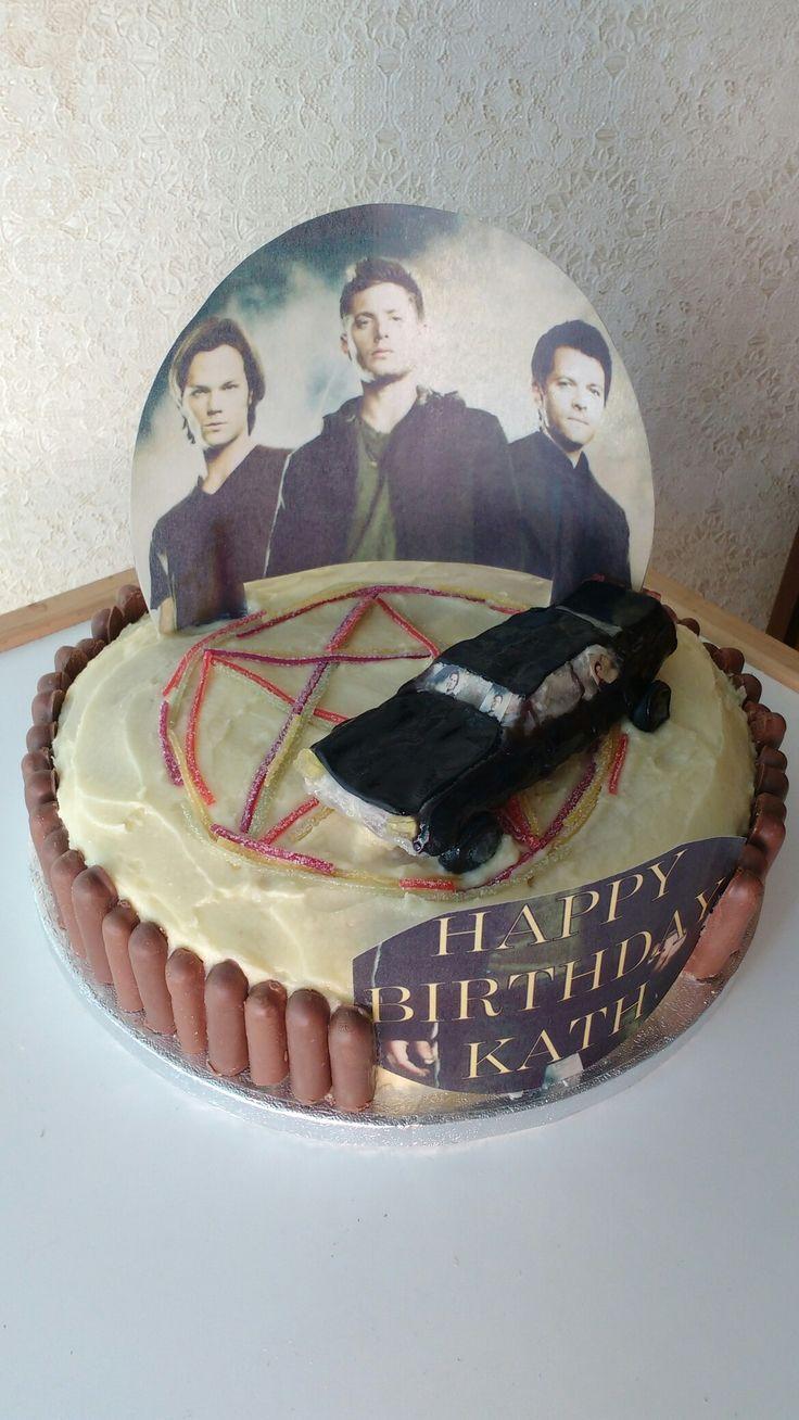 Supernatural Birthday Cake Ideas