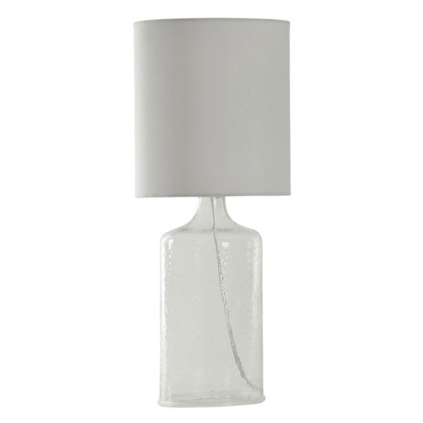 Stylecraft L23569 Seeded Glass Lamp Glass Table Lamp Lamp