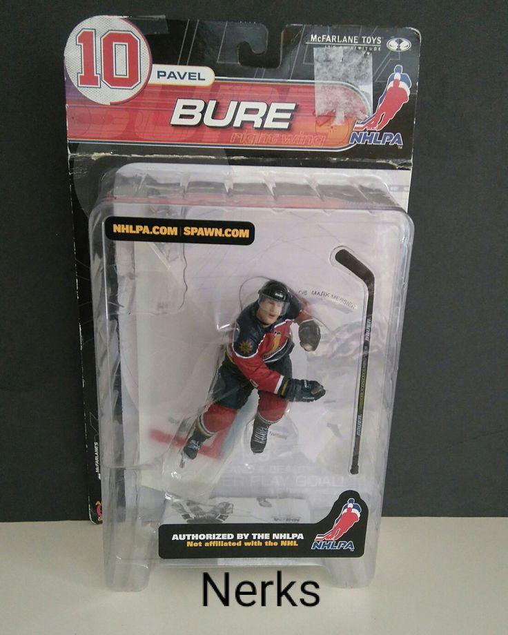 NHLPA Pavel Bure series 2, 2000 mcfarlane toys ( box in rough shape). $6.00 CDN +ship.