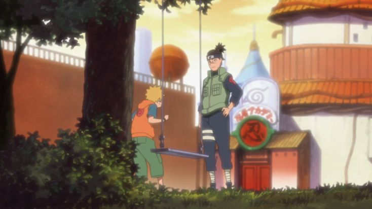 Uzumaki Naruto || Umino Iruka || Naruto
