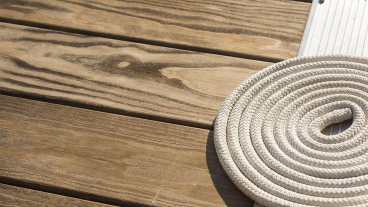 Boat, Yacht, and Marine Wood Decking & Flooring | Kebony