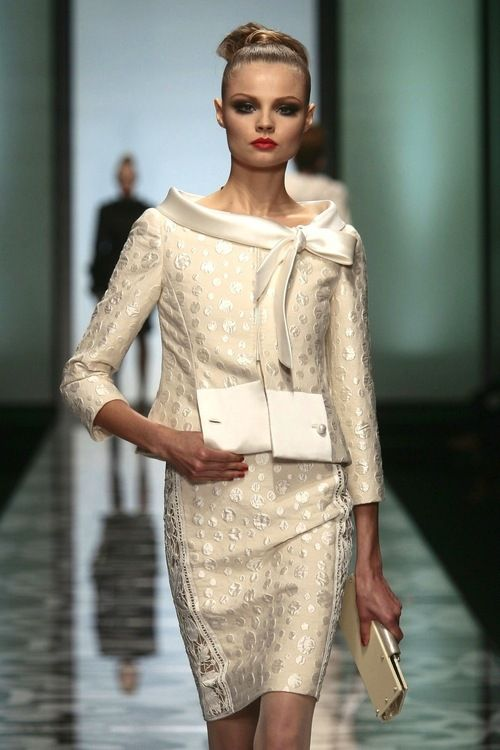 147 best Women Suits images on Pinterest | Couture, Fashion 2015 ...