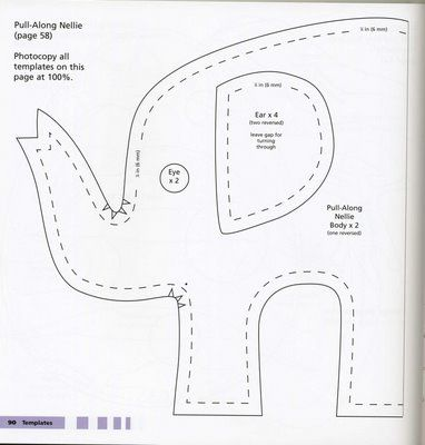 Maripê: Moldes de elefante2