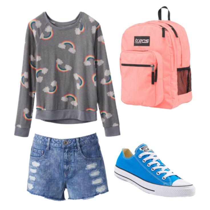 Back to school outfit! Shirt – Kohl's Shorts – Kohl's Shoes – Kohl's… – Back 2 school