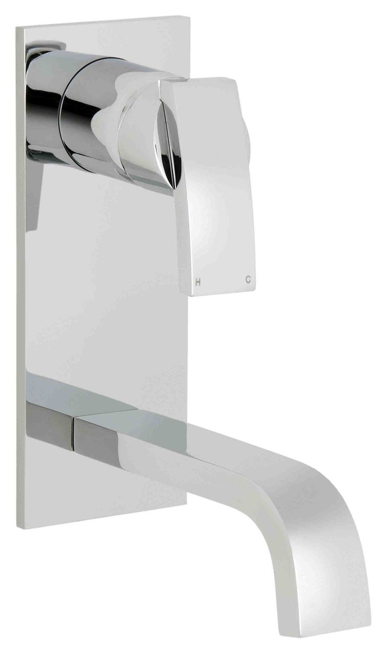 Ram Tapware Aviad Vertical Wall Bath Mixer Set – TipTop Select.... sometimes just a change in angle of your tap ware from horizontal to vertical can make a huge difference to the overall design impact of your bathroom.