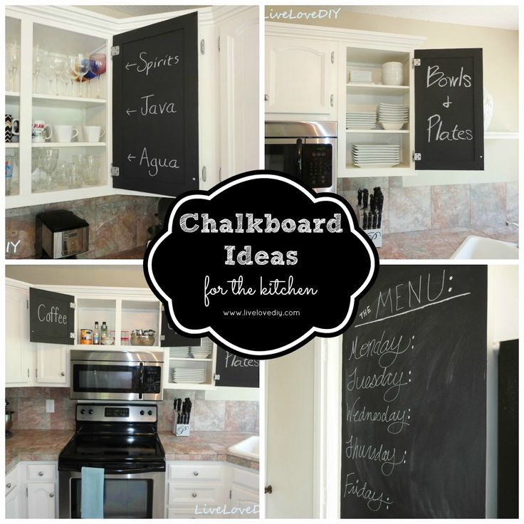 Can You Use Chalkboard Paint On Kitchen Cabinets