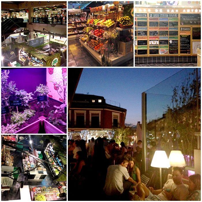 ¿Conoces el mercado de San Antón en Madrid? #mercado #sananton #madrid