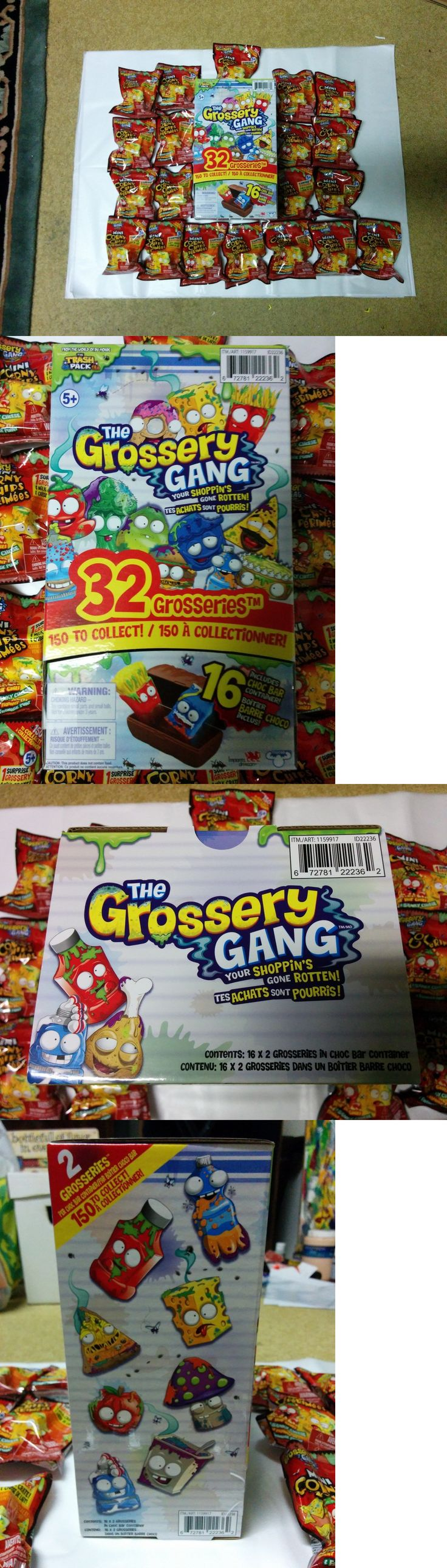 TV Movie and Character Toys 51031: Grossery Gang Series 1 + Mini Corny Chips Lot, New, Never Opened, Moose Toys -> BUY IT NOW ONLY: $125 on eBay!