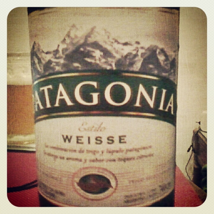 Patagonia weisse :9  #beer #cerveza #patagonia #weizen #weisse #drink #delicious
