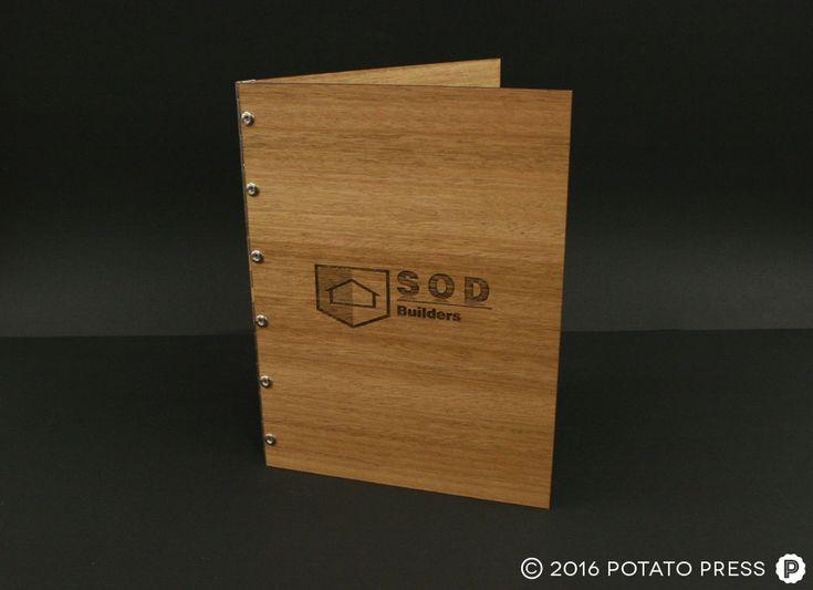 3-заказ лазером-деревянно-Связующее-фальцевально-шарнирной документ-связующее