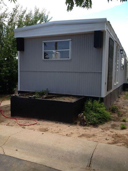 renovated mobile home landfill save mh4, home decor