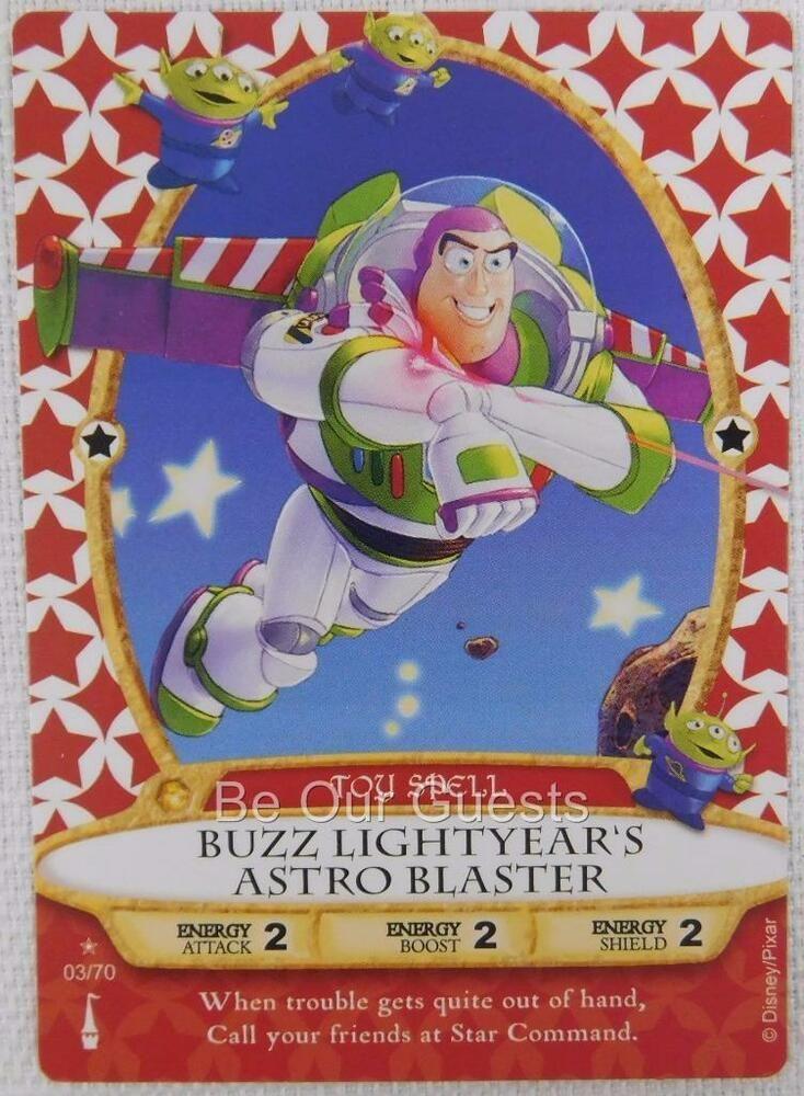 Disney Sorcerers of the Magic Kingdom Card 03 Buzz