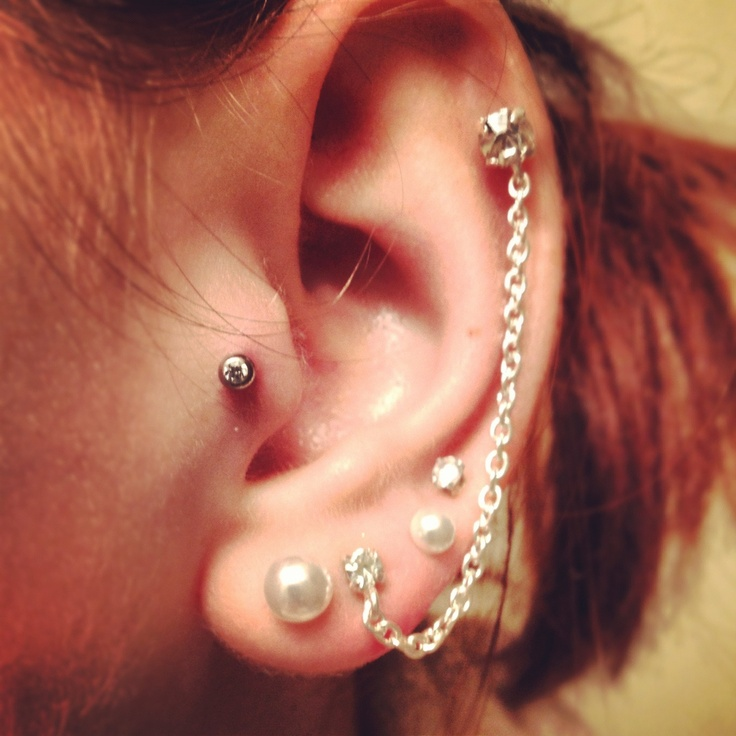 Cartilage piercing | Tattoos and Piercings | Pinterest ...