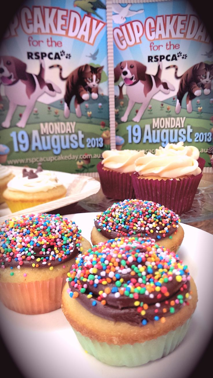 So many delicious ways to support the RSPCA: http://www.rspcacupcakeday.com.au/