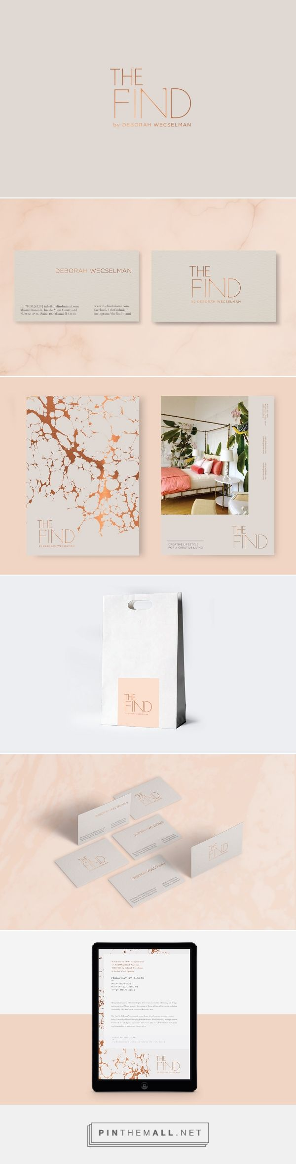 The Find Branding on Behance | Fivestar Branding – Design and Branding Agency & Inspiration Gallery