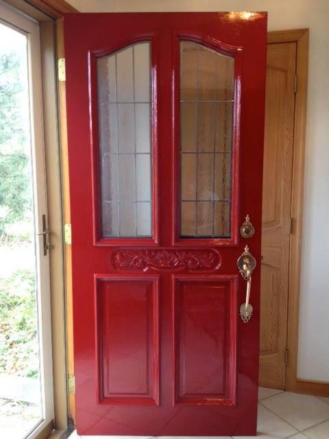 Red front door fine paints of europe hollandlac in for European front doors