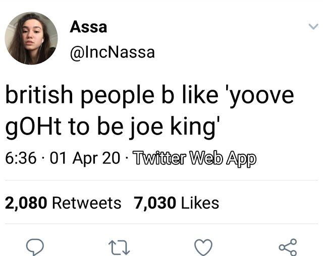Pin By Candela Romero On I British Memes British People Funny Tweets