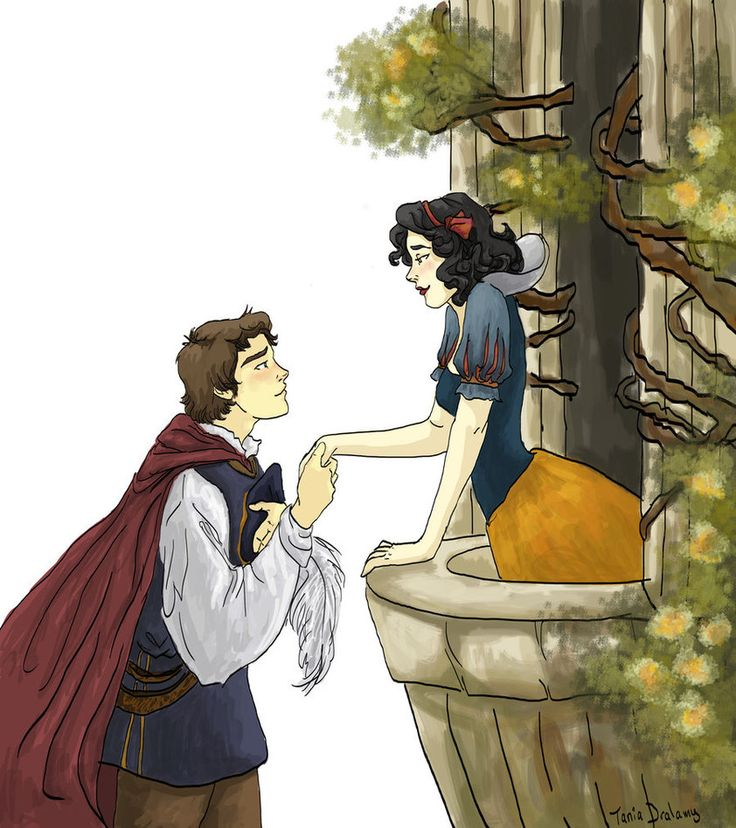Snow White and Prince Charming by *Dralamy on deviantART