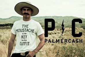 Palmercash T-shirts available on my webshop www.lazybaboon.be Come check it out!