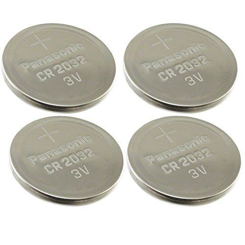 11/26/2016 -- [ 4 pcs ] -- Panasonic Cr2032 3v Lithium Coin Cell. Only $3.35! :)