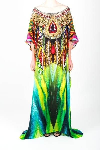 Embellished Kaftan Dress Design KC-SK107-L