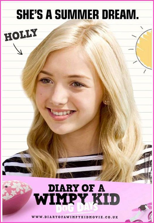 """Peyton List """"Diary Of A Wimpy Kid: Dog Days"""" Movie Poster ..."""