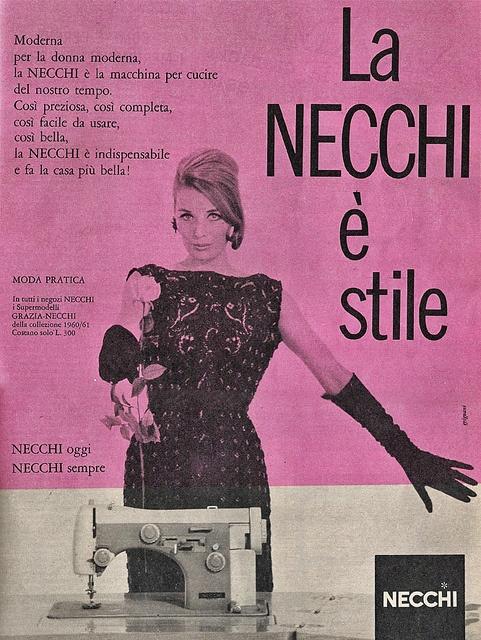 necchi 1960 by Lollodj, via Flickr
