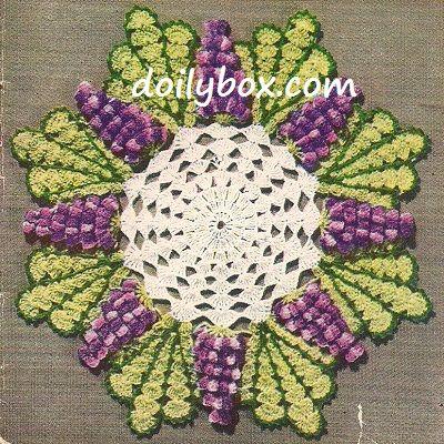 63 best Free Crochet Floral Flower Patterns images on Pinterest ...