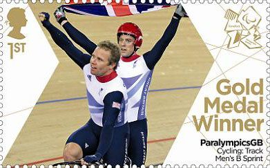 1st, Cycling: Track Men's B Sprint - Paralympics Team GB Gold Medal Winners  from Paralympics Team GB Gold Medal Winners  (2012)