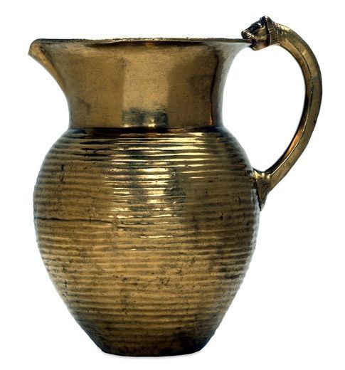 Achaemenid Gold Pitcher, Iran, Persia. The Oxus (Amu Darya) treasure: